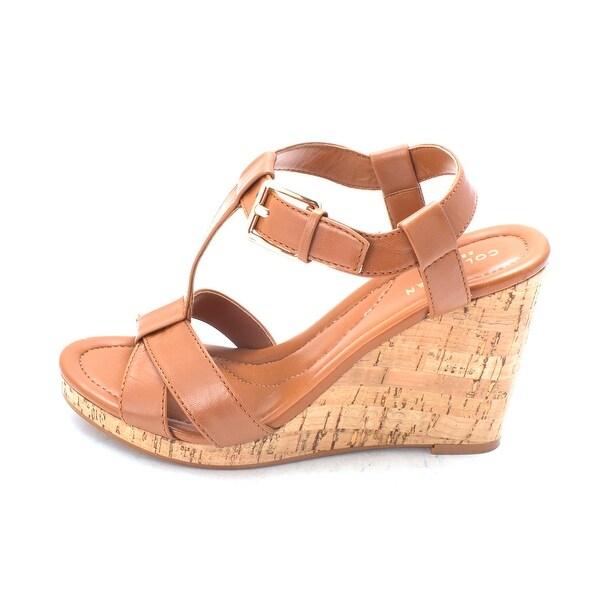 Cole Haan Womens Silvettasam Open Toe Casual Platform Sandals