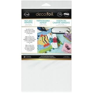 "Deco Foil Iron-On Adhesive Transfer Sheet 5.5""X12"" 5/Pkg-"