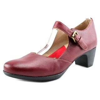 Softwalk Irish N/S Round Toe Leather Mary Janes