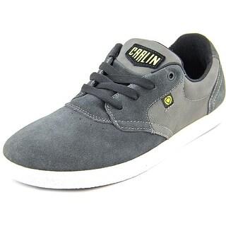 Circa Jc01 Men Round Toe Suede Gray Sneakers