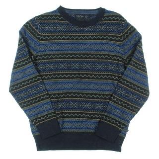 Nautica Mens Crewneck Sweater Cotton Knit