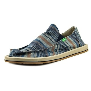 Sanuk Donny   Moc Toe Canvas  Loafer
