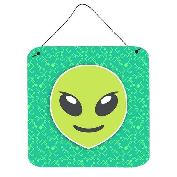 Shop Carolines Treasures Extraterrestrial Alien Emoji Wall Print