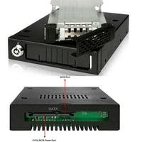 Icy Dock Full Metal 2.5 Sata Hdd & Ssd Hot Swap Mobile Rack For 3.5 Drive Bay - Tougharmor Mb991sk-B