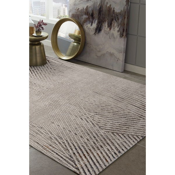 Strick & Bolton Renew Abstract Geo Area Rug. Opens flyout.