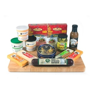 Link to 15pc Wisconsin Beef Sausage and Cheese Gift Pack - Multi Similar Items in Grocery