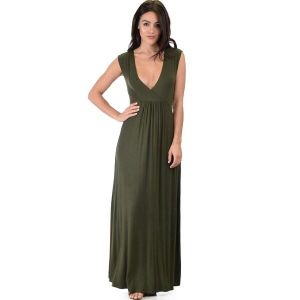 f0d1d834888a6 sweetest kiss sleeveless maxi dress-Olive-