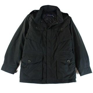 Polo Ralph Lauren NEW Black Mens Size XL Multi Pocket Puffer Jacket