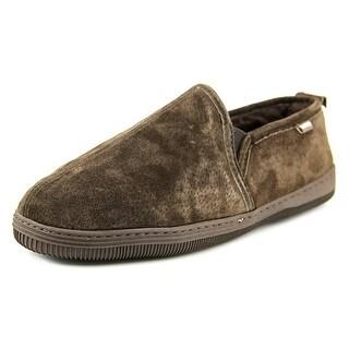 Lamo Romeo Men Moc Toe Leather Slipper