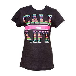 Womens Cali Life Tribal Short-Sleeve T-Shirt