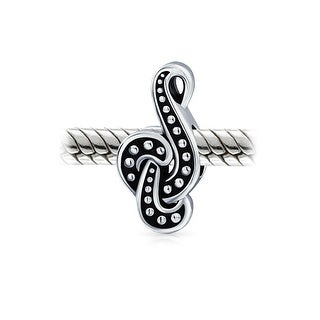 .925 Sterling Silver Musical Charm