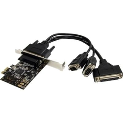 Startech 2S1p Pci Express Serial Parallel Combo Card With Breakout Cable (Pex2s1p553b)