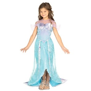 Deluxe Mermaid Princess Child Halloween Costume (2 options available)