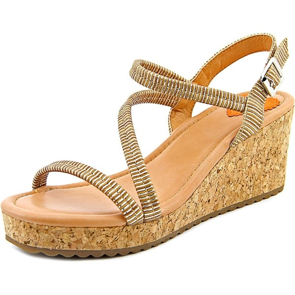 Rocket Dog Eldora Open Toe Synthetic Wedge Sandal