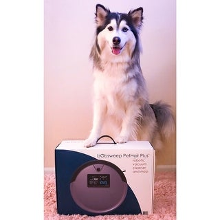Shop Bobsweep Pethair Plus Robotic Vacuum Cleaner And Mop
