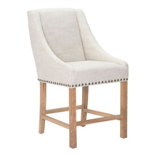 Zuo Modern Indio Counter Chair Indio Oak Barstool