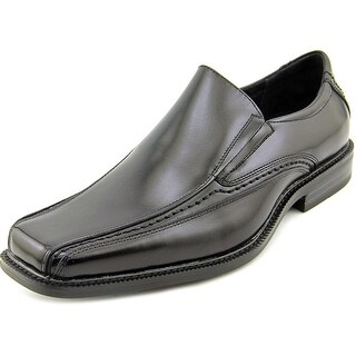Stacy Adams Dalen Men Square Toe Leather Black Loafer