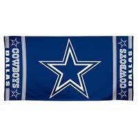NFL Dallas Cowboys 30 by 60 Fiber Reactive Beach Towel