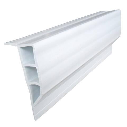 Dock edge standard pvc full face profile 16ft roll white