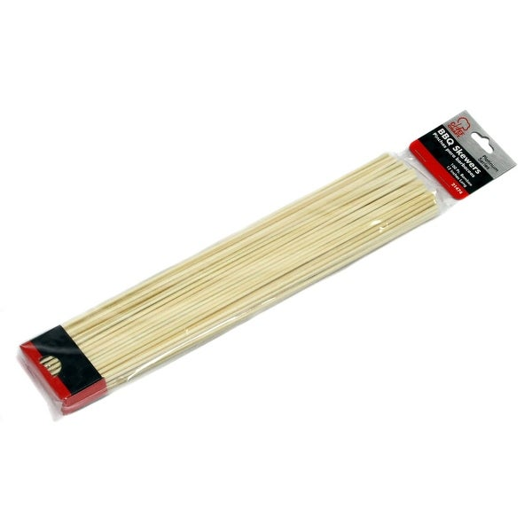 """12"""" Bamboo Barbeque Skewers - 36 Units"""