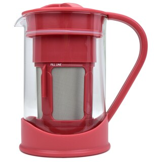 Spigo Cold Brew Coffee Maker with Borosilicate Glass Pitcher, 1 Liter, 8x5 Inches