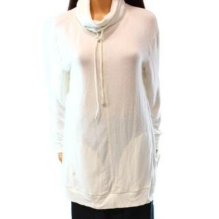 Designer Brand NEW White Women's Size Medium M Turtleneck Mock Sweater