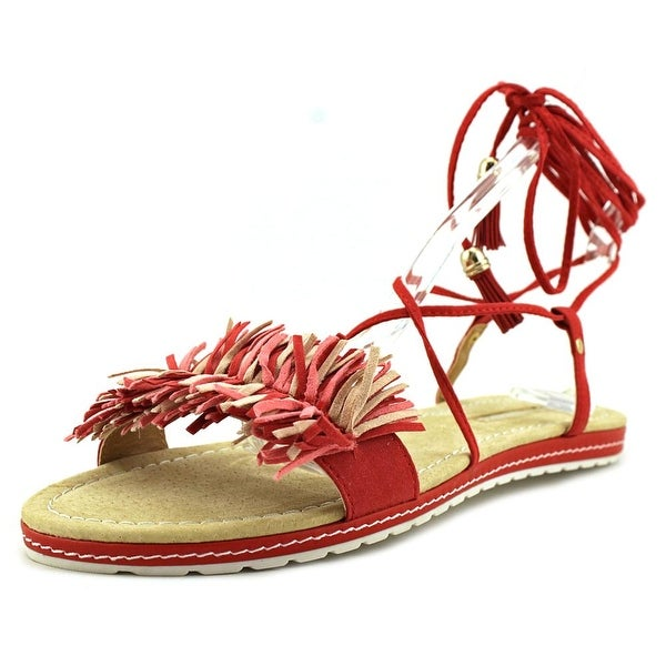 Maria Mare 66774 Women Red/Red/Nude/Strawberry Sandals