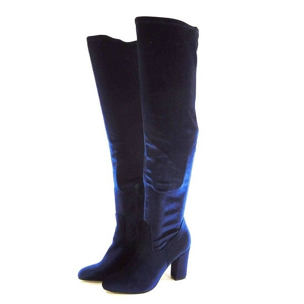Madden Girl Womens Felize Closed Toe Knee High Fashion Boots