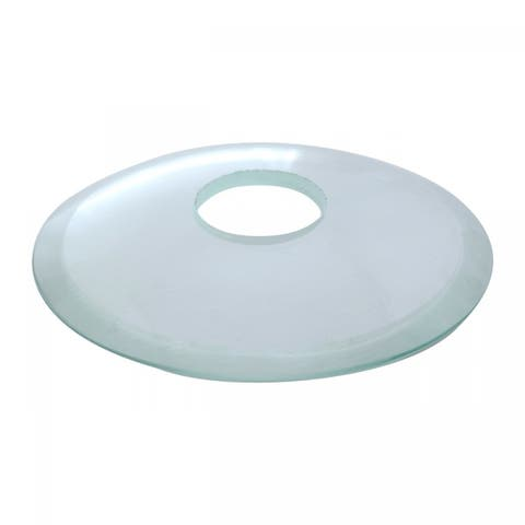 Replacement Waterfall Faucet Clear Glass Disc Plate Renovator's Supply