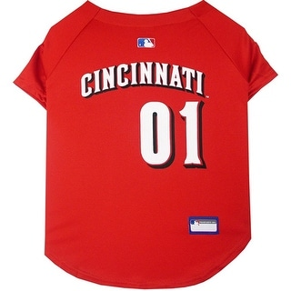Cincinnati Reds Dog Jersey - Extra Small