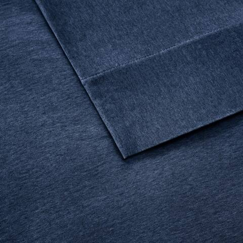 Carbon Loft Porta Cotton Jersey Knit Deep Pocket Heathered Bed Sheet Set