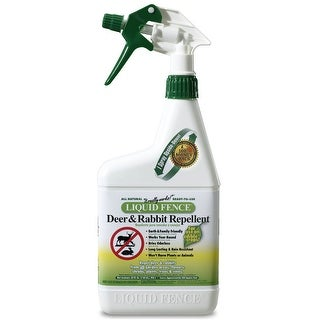 Liquid Fence 00112 Ready To Use Deer And Rabbit Repellent , 32 Oz.
