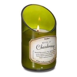 Vintage Wine Bottle Chardonnay Scented Candle