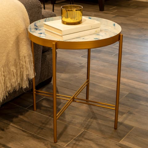 Paige Patina Vie Tray Folding Accent Table