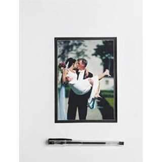 "White - Wedding Autograph Mat 11""X14"""