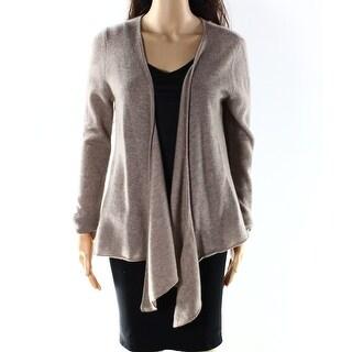 PHILOSOPHY NEW Beige Women's Size Large L Cardigan Cashmere Sweater