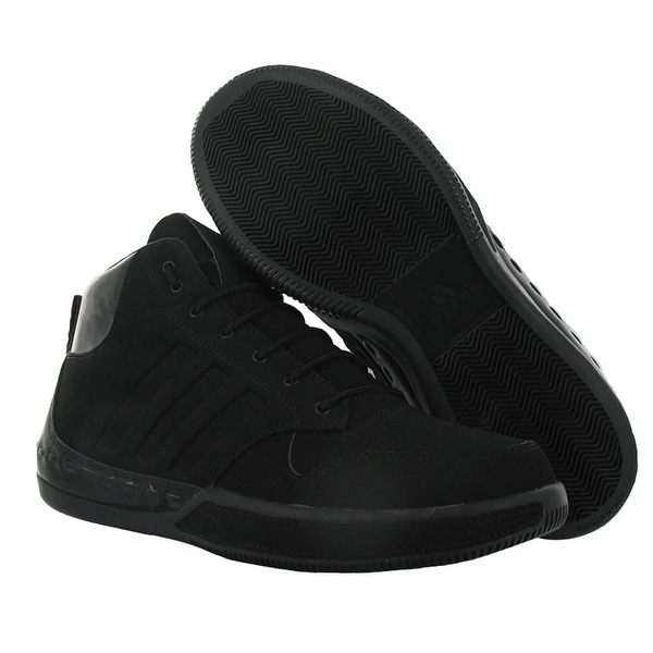 Adidas Lux Mid Basketball Shoes Mens Black Size - 9 d(m) us