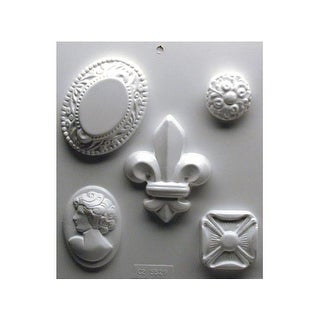 Yaley Soapsations Plastic Mold Cameos