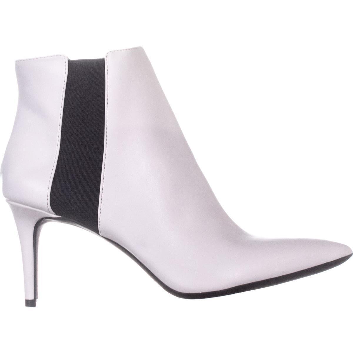 4a0a7f6eba31 Shop I35 Irsia Pointed Toe Ankle Boots, Bright White - On Sale - Free  Shipping On Orders Over $45 - Overstock - 26043375 - 5.5 US