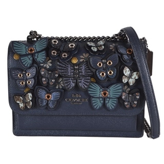 Link to Coach 1425 KLARE Butterfly Grommet Applique Chain Crossbody Purse Bag Similar Items in Shop By Style