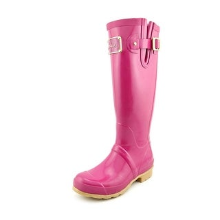 Joules Kelly Wely Round Toe Synthetic Rain Boot