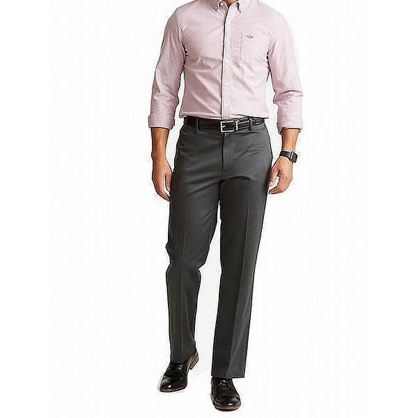 Dockers Mens Pants Graphite Gray Size 40x30 Original Khakis Classic Fit. Opens flyout.
