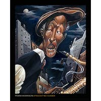 ''Straight, No Chaser'' by Frank Morrison Jazz Art Print (10 x 8 in.)