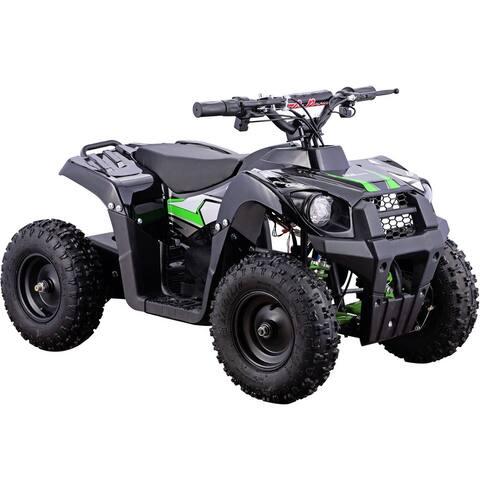 MotoTec Monster 36v 500w ATV Green