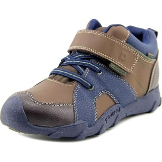 Pediped Grip N Go Justin Round Toe Leather Walking Shoe