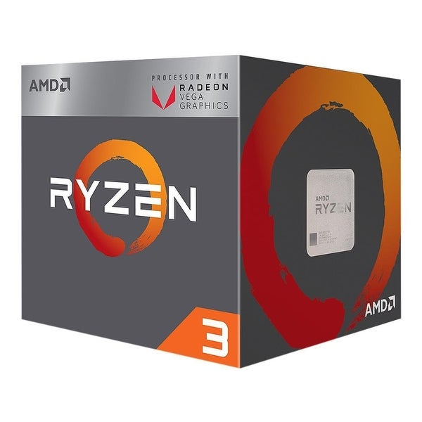 Amd - Yd2200c5fbbox Ryzen 3 2200G With Radeon Vega 8 Graphics