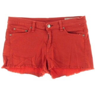 Rag & Bone Womens Stretch Cutoffs Denim Shorts - 28
