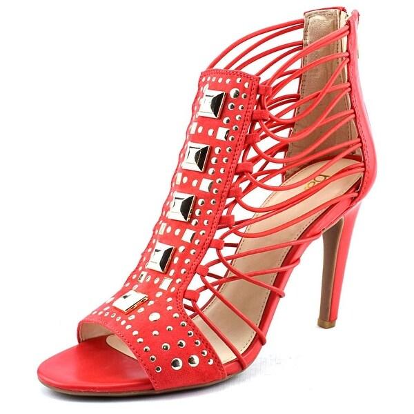 Bar III Annetta Women Open Toe Synthetic Pink Gladiator Sandal