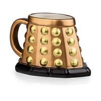 Doctor Who Dalek 3D Mug (Bronze) - Multi
