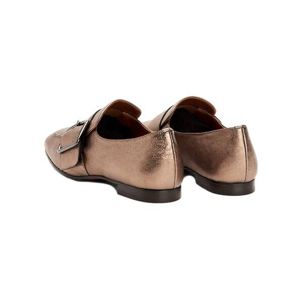 Aquatalia Ruth Waterproof Metallic Loafer 9